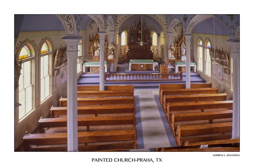 CHURCH-PRAHA INTERIOR