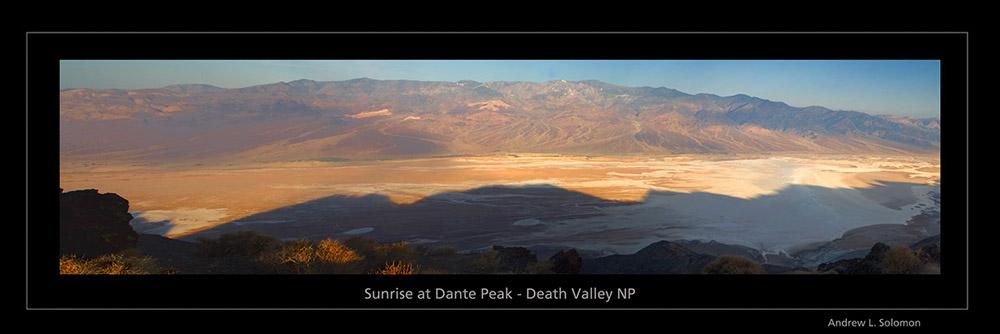 DEATH VALLEY BASIN FROM DANTE'S PEAK 03 GALLERY -black