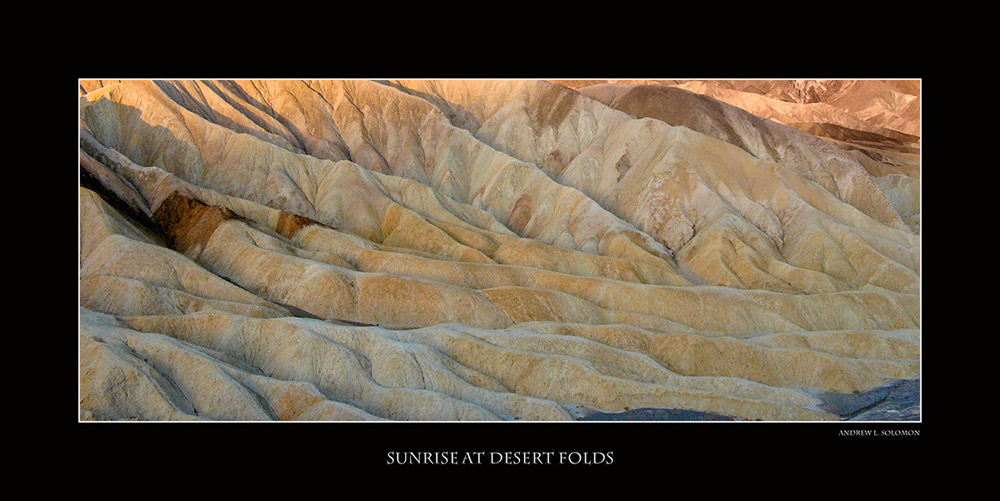 EVENING DESERT FOLDS
