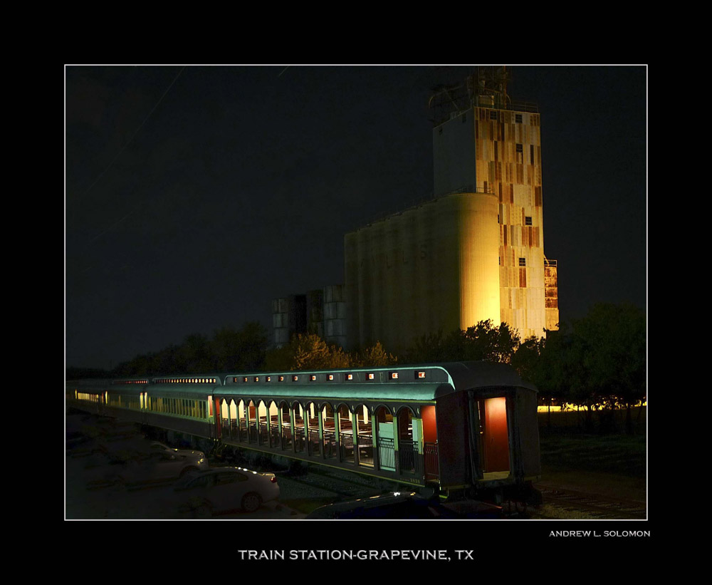 GRAPEVINE TRAIN STATION