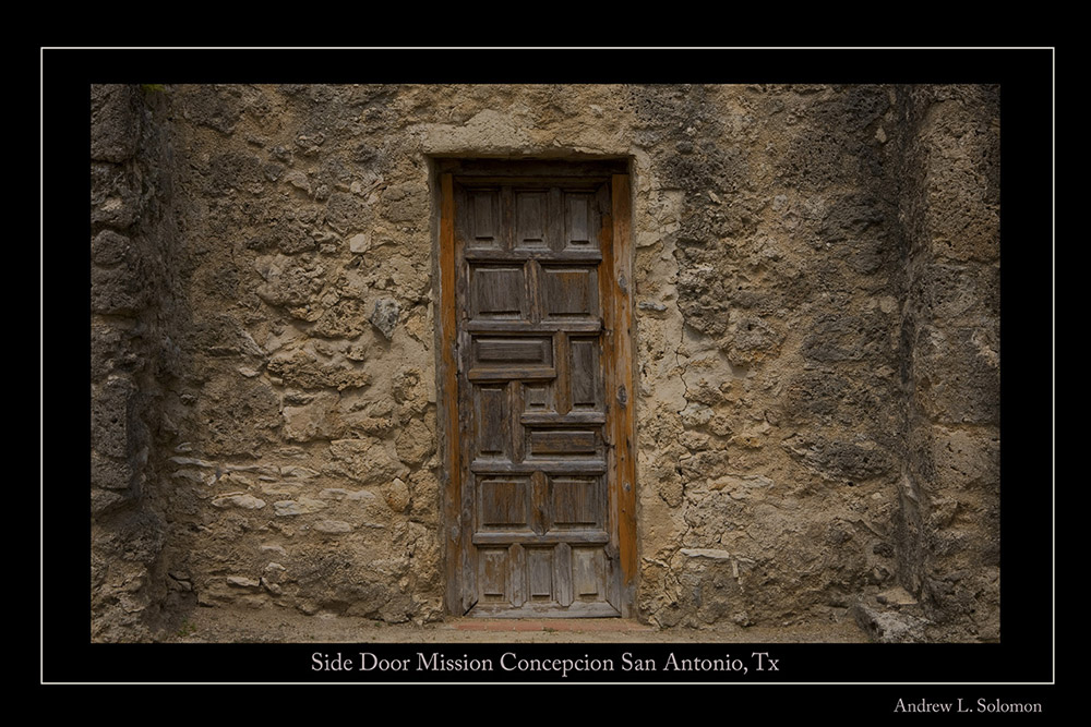 MISSION SIDE DOOR A GALLERY