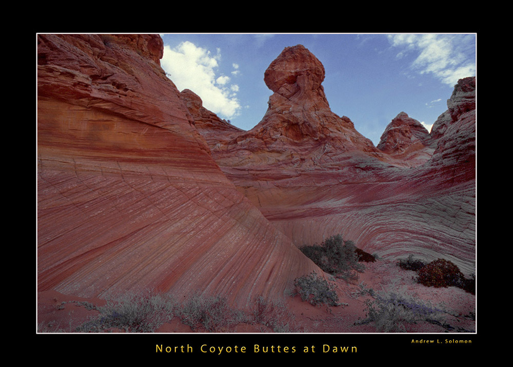 North Coyote Butte at Dawn