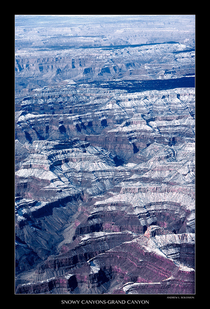 SNOWY CANYONS-GRAND CANYON